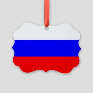 Russia Picture Ornament