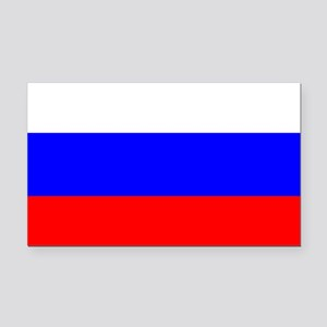 Russia Rectangle Car Magnet