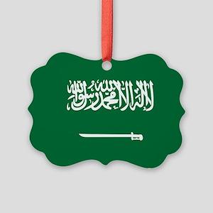 Saudi Arabia Picture Ornament
