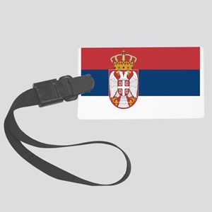 Serbia Large Luggage Tag