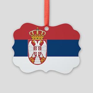 Serbia Picture Ornament