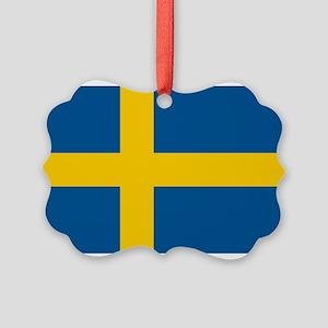 Sweden Picture Ornament