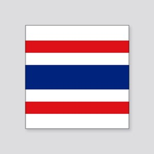 "Thailand Square Sticker 3"" x 3"""
