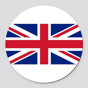 United Kingdom Round Car Magnet