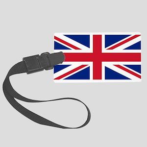United Kingdom Large Luggage Tag