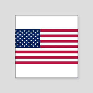 "United States Square Sticker 3"" x 3"""