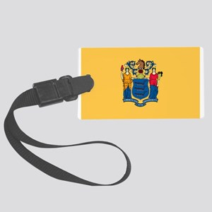 New Jersey Large Luggage Tag