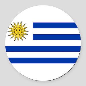 Uruguay Round Car Magnet