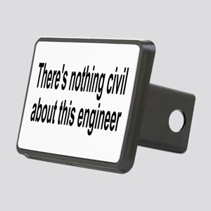 Civil Engineer Rectangular Hitch Cover