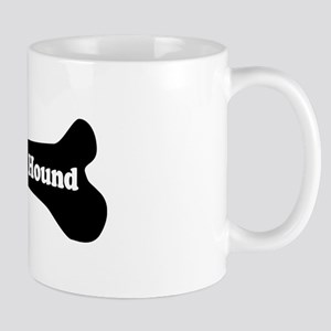 I Love My Hound - Dog Bone Mug