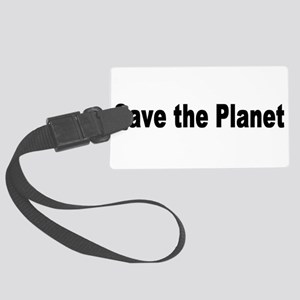 planet2 Large Luggage Tag