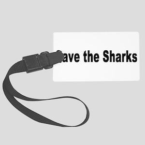 shark2 Large Luggage Tag
