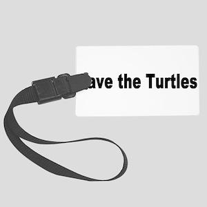turtles2 Large Luggage Tag