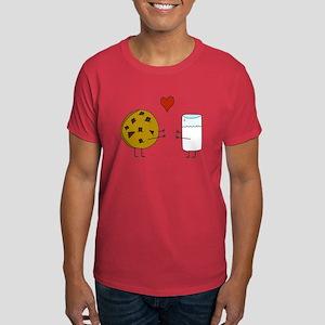 Cookie Loves Milk Dark T-Shirt