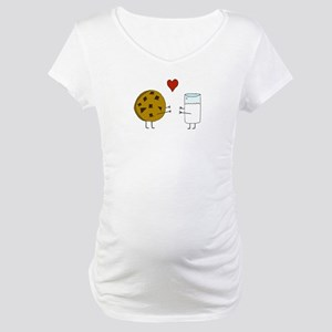 Cookie Loves Milk Maternity T-Shirt