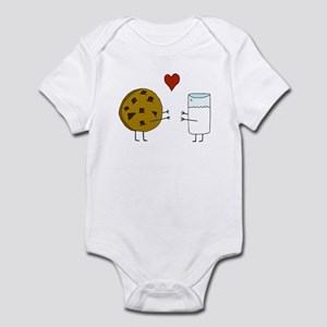 Cookie Loves Milk Infant Bodysuit