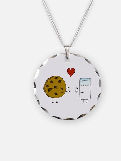 Cookie Loves Milk Necklace