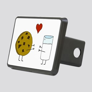 Cookie Loves Milk Rectangular Hitch Cover