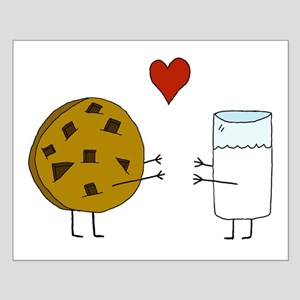 Cookie Loves Milk Small Poster