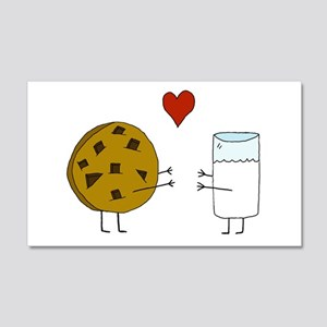 Cookie Loves Milk 20x12 Wall Decal