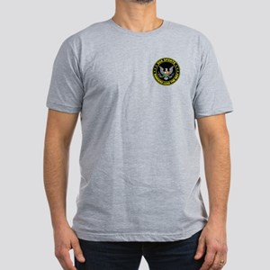 Rangers Lead The Way Men's Fitted T-Shirt (dark)