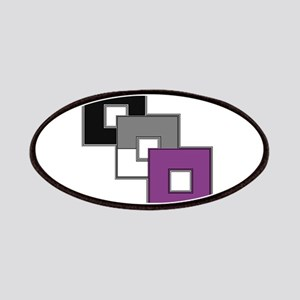Asexual Pride Patches