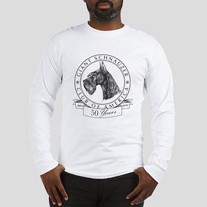 Giant Schnauzer Club of America Logo Long Sleeve T