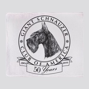 Giant Schnauzer Club of America Logo Stadium Blan