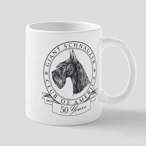 Giant Schnauzer Club of America Logo Mug