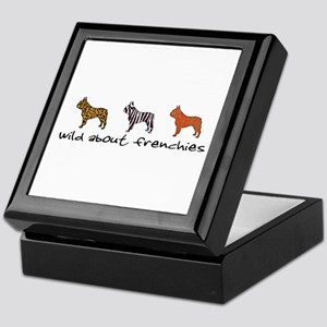 Wild About Frenchies Keepsake Box