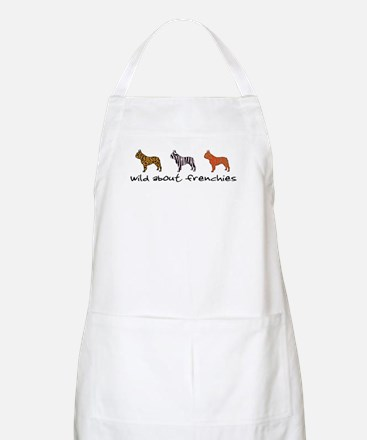 Wild About Frenchies BBQ Apron