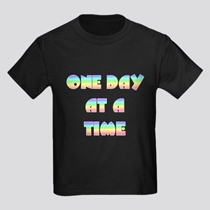 One day at a time~2000x2000PW Kids Dark T-Shir