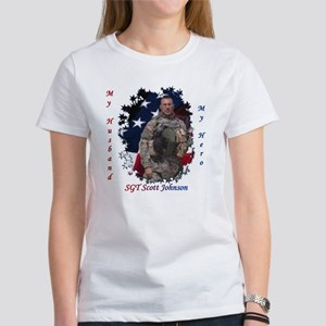 My Husband My Hero Women's T-Shirt