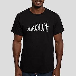 Juggling Men's Fitted T-Shirt (dark)