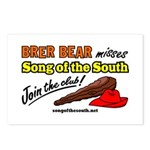 Brer Bear Postcards (Package of 8)