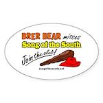 Brer Bear Sticker (Oval)