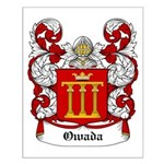 Owada Coat of Arms Small Poster