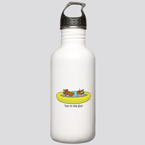 Dachshund - Fun in the Sun Stainless Water Bottle