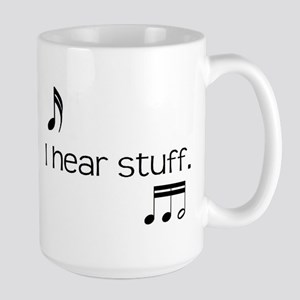 i hear stuff Mugs