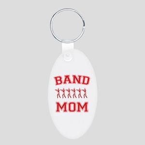 Band Mom Aluminum Oval Keychain