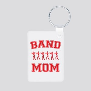 Band Mom Aluminum Photo Keychain