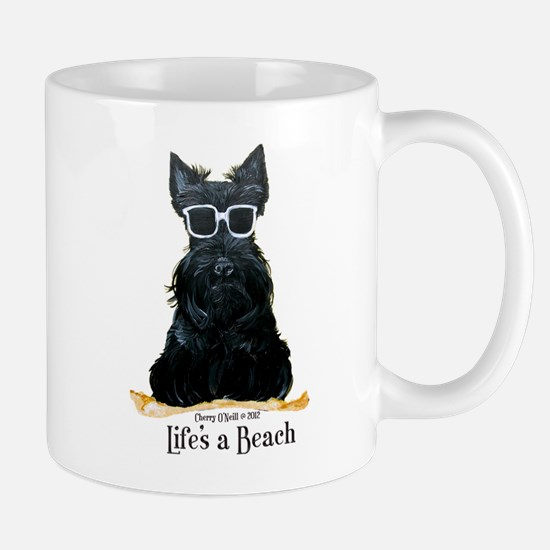 Scottie Beach Mug
