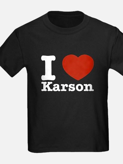 I Love Karson T