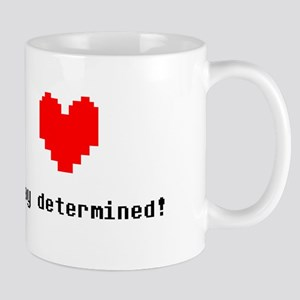 Stay Determined - Blk Mugs