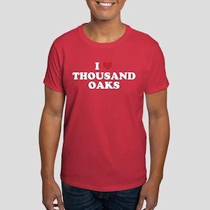 I Love Thousand Oaks California Dark T-Shirt