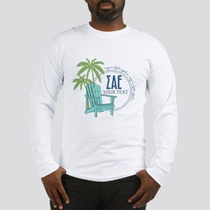Sigma Alpha Epsilon Beach Pers Long Sleeve T-Shirt