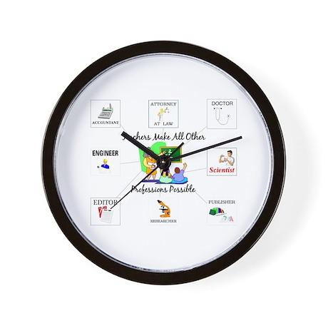 Teachers Make All Other Profe Wall Clock