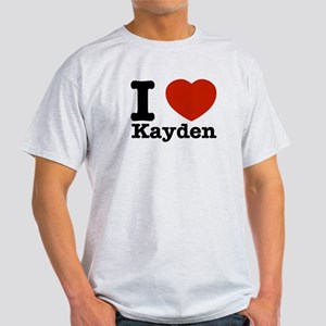I Love Kayden Light T-Shirt