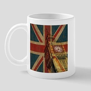 Vintage Union Jack Mug