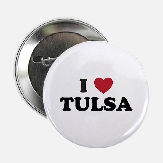 "I Love Tulsa Oklahoma 2.25"" Button"